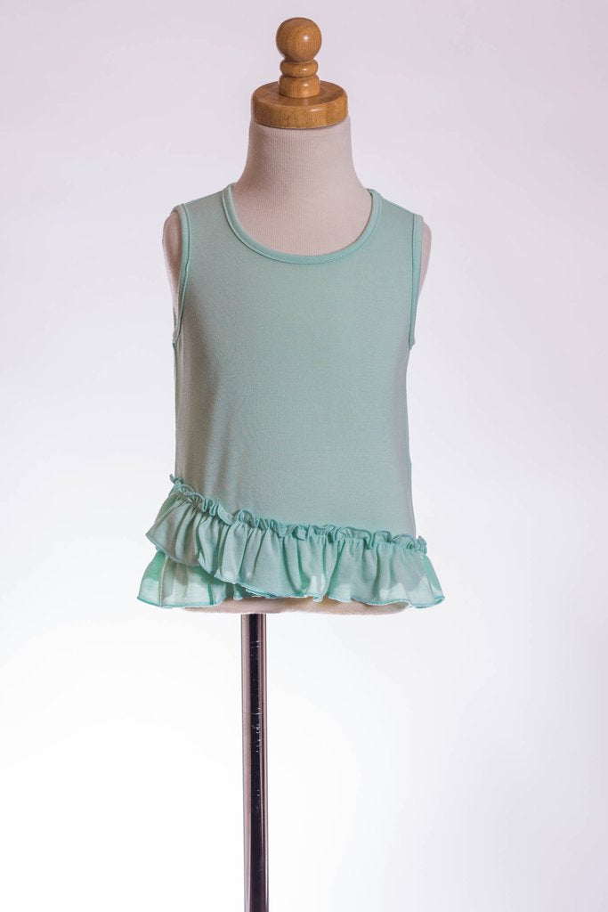 ML Kids, ML KIDS GIRLS RUFFLE TANK - James & Olive