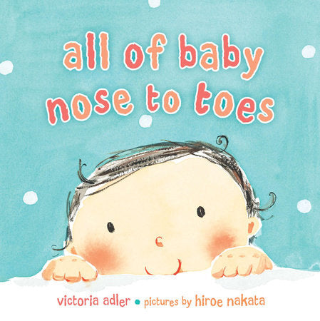 Penguin House, ALL OF BABY, NOSE TO TOES BOOK - James & Olive
