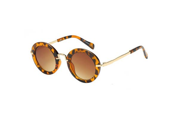 GIRLS FASHION OVAL SUNGLASSES