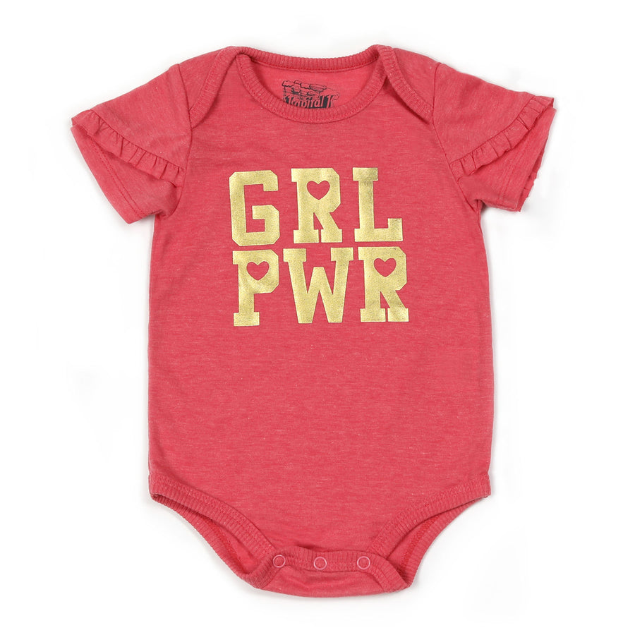 KAPITAL K BABY GIRLS GRAPHIC BODYSUIT-FINAL SALE