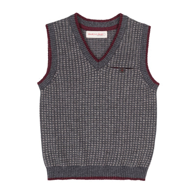 Deux par Deux, DEUX PAR DEUX BOYS SWEATER VEST - James & Olive