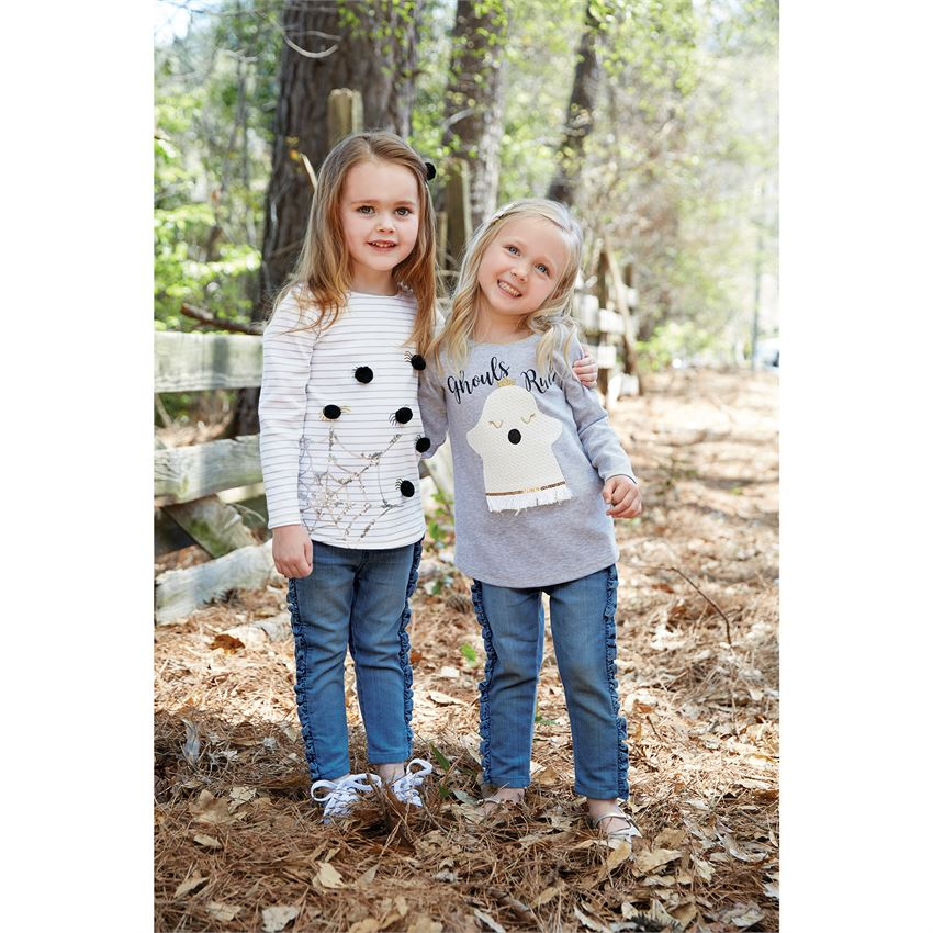 Mud Pie, MUD PIE GIRLS HALLOWEEN TUNICS - James & Olive