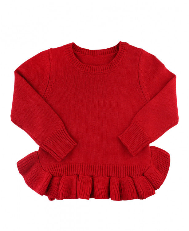 Ruffle Butts, RUFFLE BUTTS RUFFLED SWEATER - James & Olive