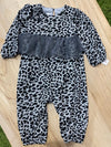 BABY GIRLS WILD LOVE ROMPER