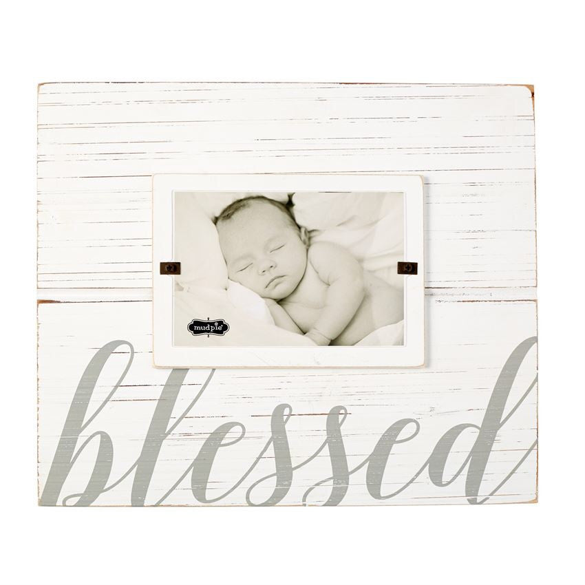 Mud Pie, MUD PIE BLESSED FRAME - James & Olive