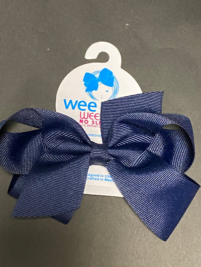 WEE ONES MEDIUM GROSGRAIN BOW