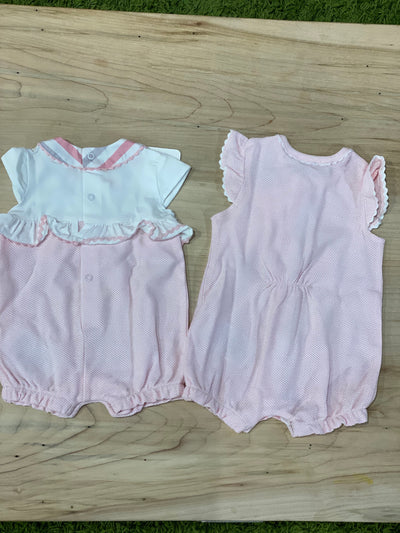 BABY GIRL SET OF 2 SUMMER ROMPERS