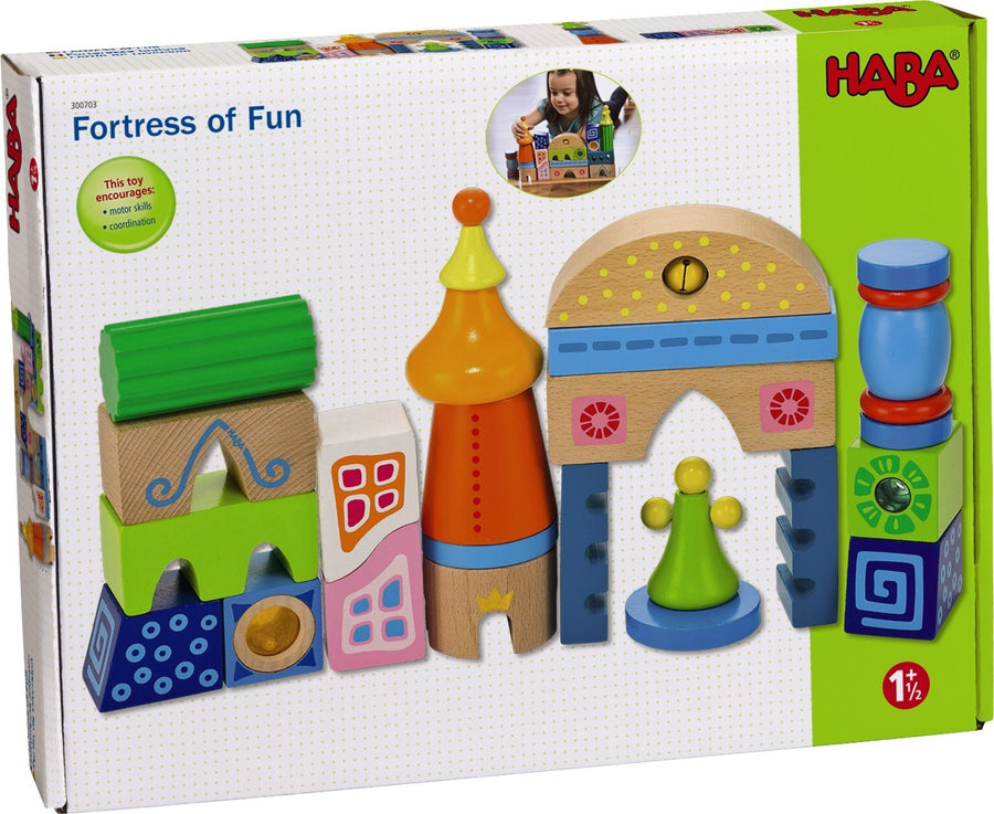 Haba, HABA FORTRESS OF FUN - James & Olive