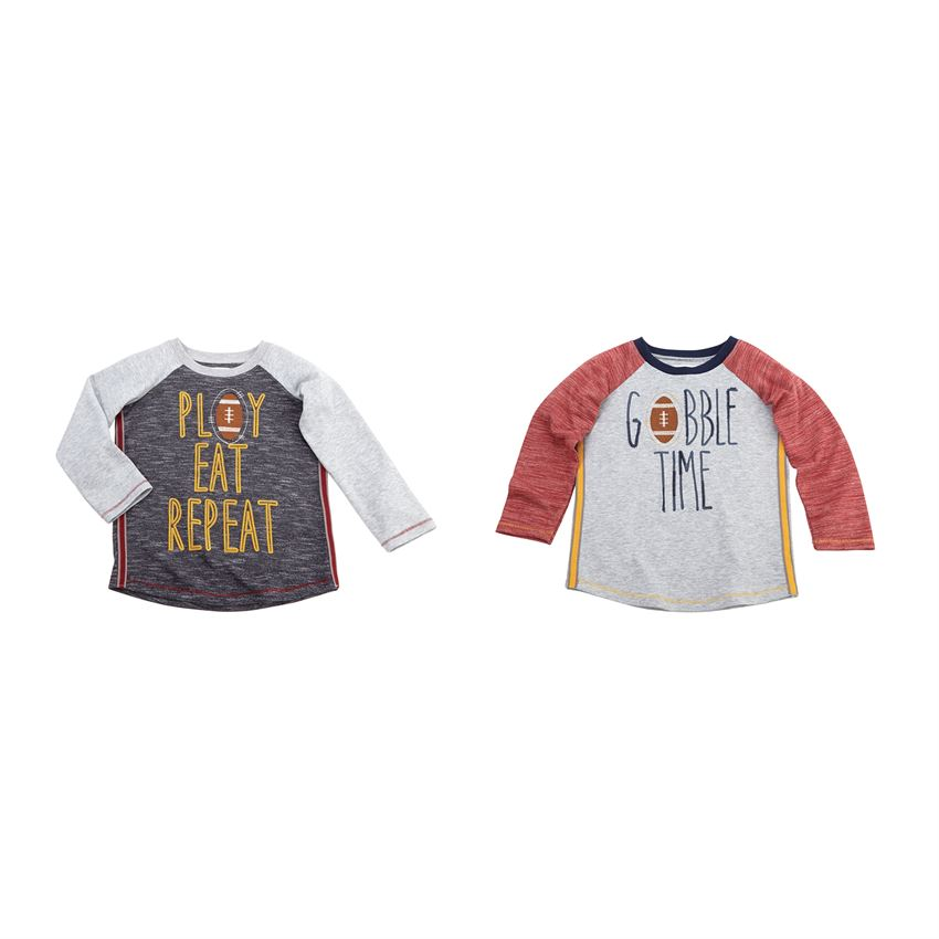 Mud Pie, MUD PIE BOYS THANKSGIVING TEES - James & Olive