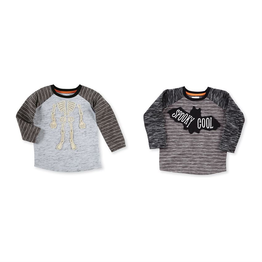 Mud Pie, MUD PIE BOYS HALLOWEEN SHIRTS - James & Olive