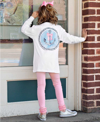 Ruffle Butts, RUFFLE BUTTS GIRLS SOUTHERN TEES - James & Olive