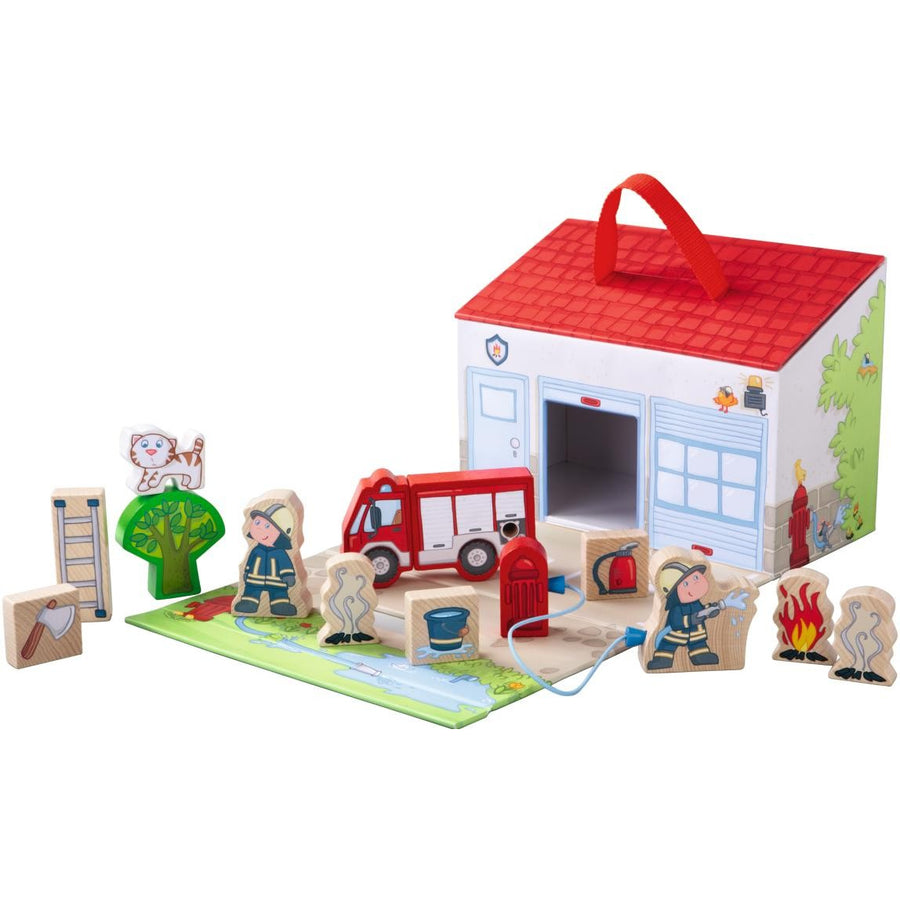 Haba, HABA TO THE RESCUE PLAYSET - James & Olive