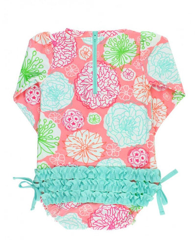 Ruffle Butts, RUFFLE BUTTS ONE PIECE RASHGUARD - James & Olive