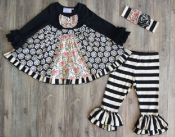 Serendipity, SERENDIPITY BELLA ROSE DRESS AND LEGGING SET - James & Olive