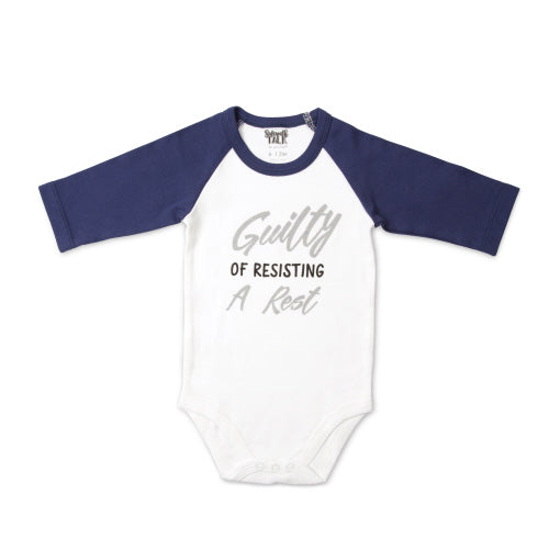 Pavilion, PAVILION BABY BOYS GUILTY ONESIE - James & Olive