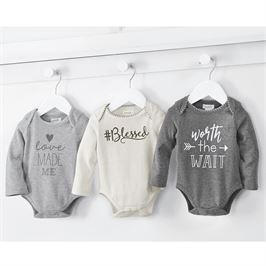 Mud Pie, MUD PIE BABY GRAPHIC CRAWLER - James & Olive