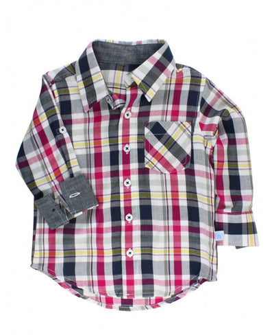 Rugged Butts, RUGGED BUTTS BOYS PLAID BUTTON DOWN - James & Olive