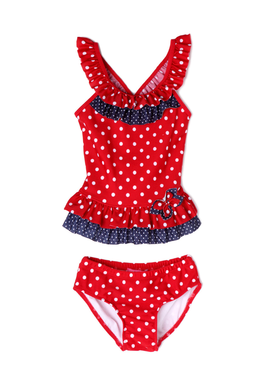 Isobella & Chloe, ISOBELLA & CHLOE GIRLS VACATION GAL TANKINI SWIM SUIT - James & Olive