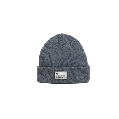 Pursuit of Thrills Merino Wool Beanie in Grey