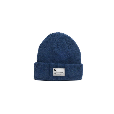 Pursuit of Thrills Merino Wool Beanie in Navy