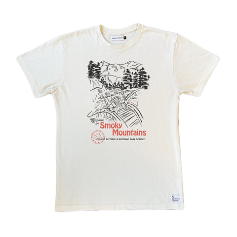 Smoky Mountains Coaster Tee