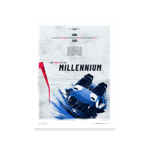 Millennium Force Limited Edition Print