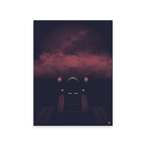 """Into The Fog"" - Art Poster - Sandusky, OH"
