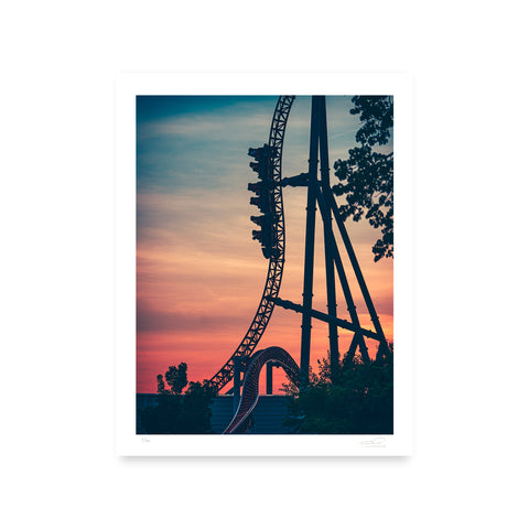 Cedar Point Maverick Photo Print