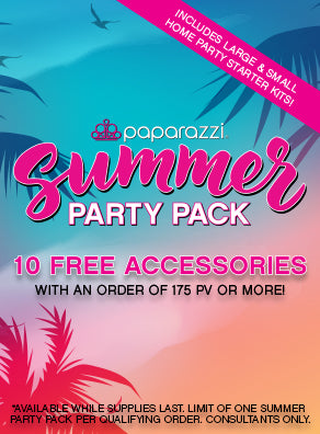 FREE Summer Party Pack! July Paparazzi Accessories Promotion