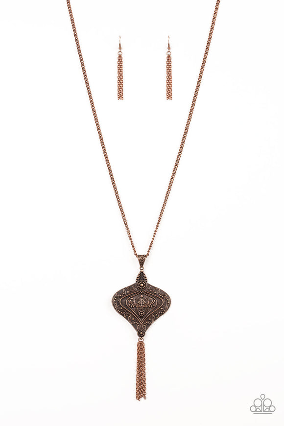 Rural Remedy - Copper Necklace - Paparazzi Accessories