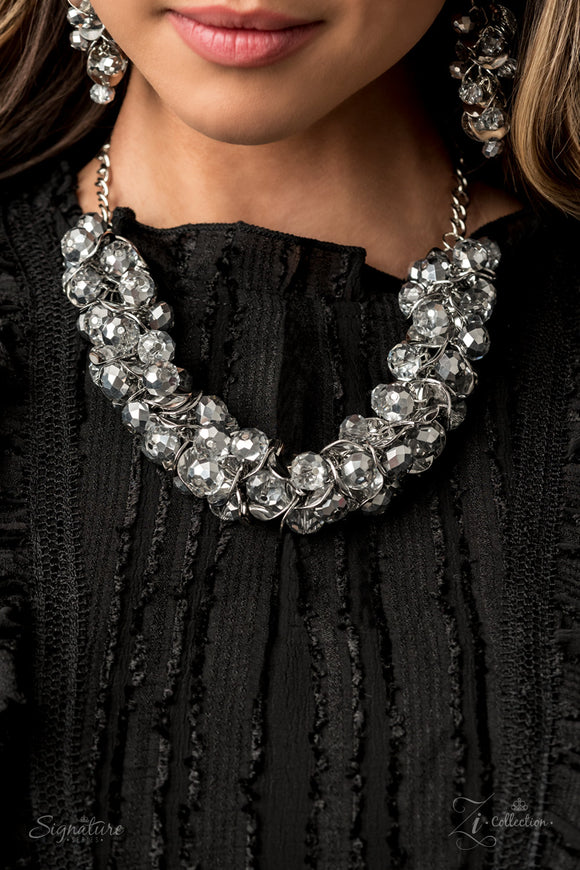 The Haydee 2020- Paparazzi Exclusive Zi Collection Pearl Necklace & Matching Earrings