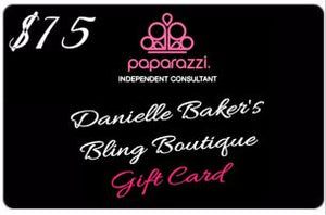 Danielle Baker's Bling Boutique Gift Card - Danielle Baker's Bling Jewelry Boutique