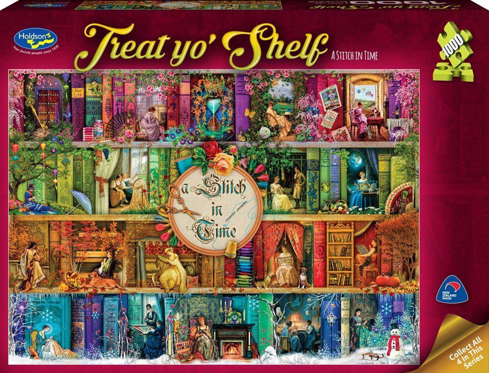 Treat Yo' Shelf Stich in Time 1000pc