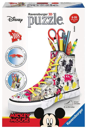 Disney Mickey 3D Sneaker 108pc