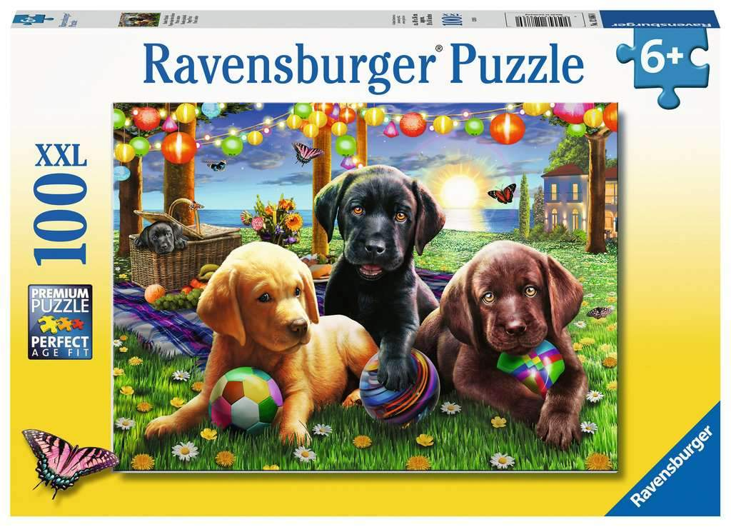 Puppy Picnic 100pc
