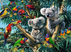 Koalas in a Tree Puzzle 500pc