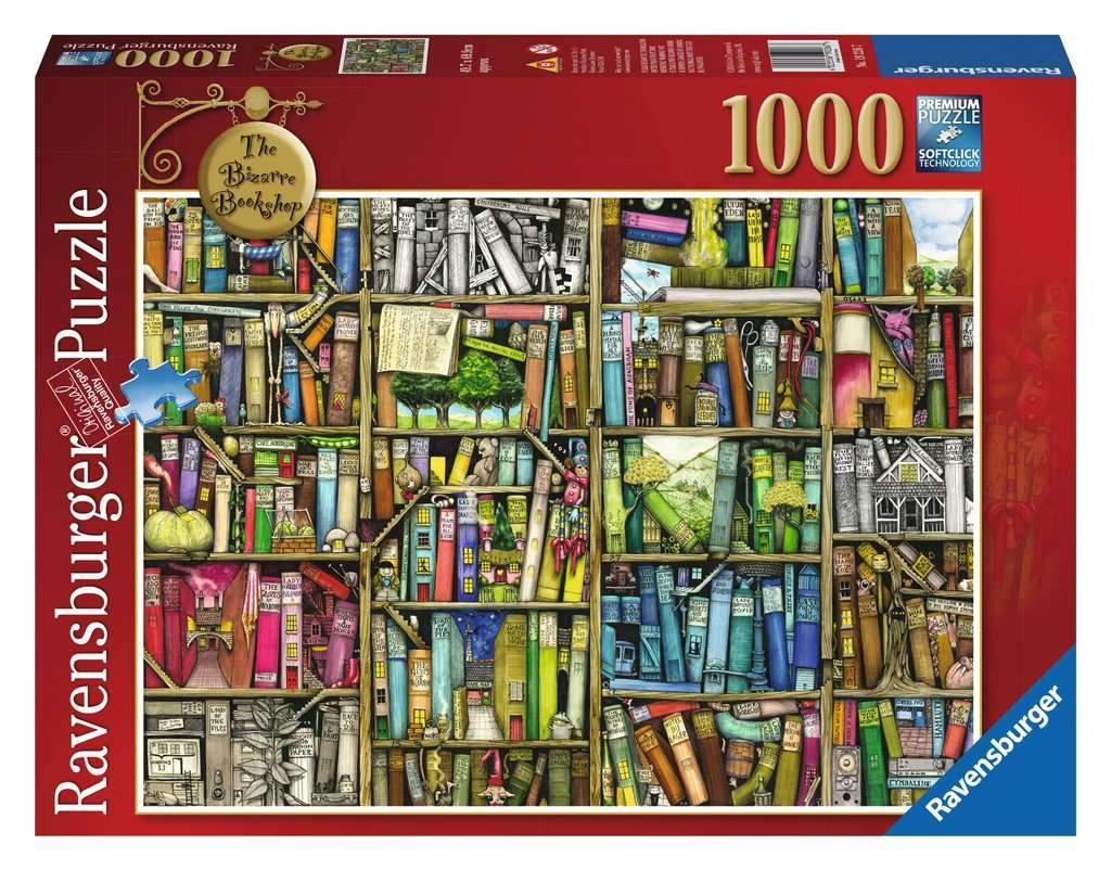 The Bizarre Bookshop Puzzle 1000pc