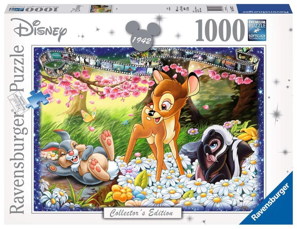 Disney Moments 1942 Bambi Puzzle 1000pc