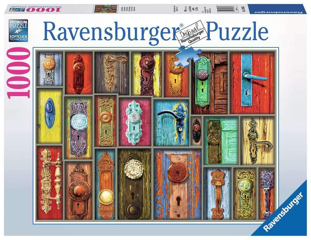 Antique Doorknobs Puzzle 1000pc