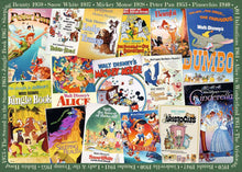 Disney Vintage Movie Posters Puzzle 1000pc