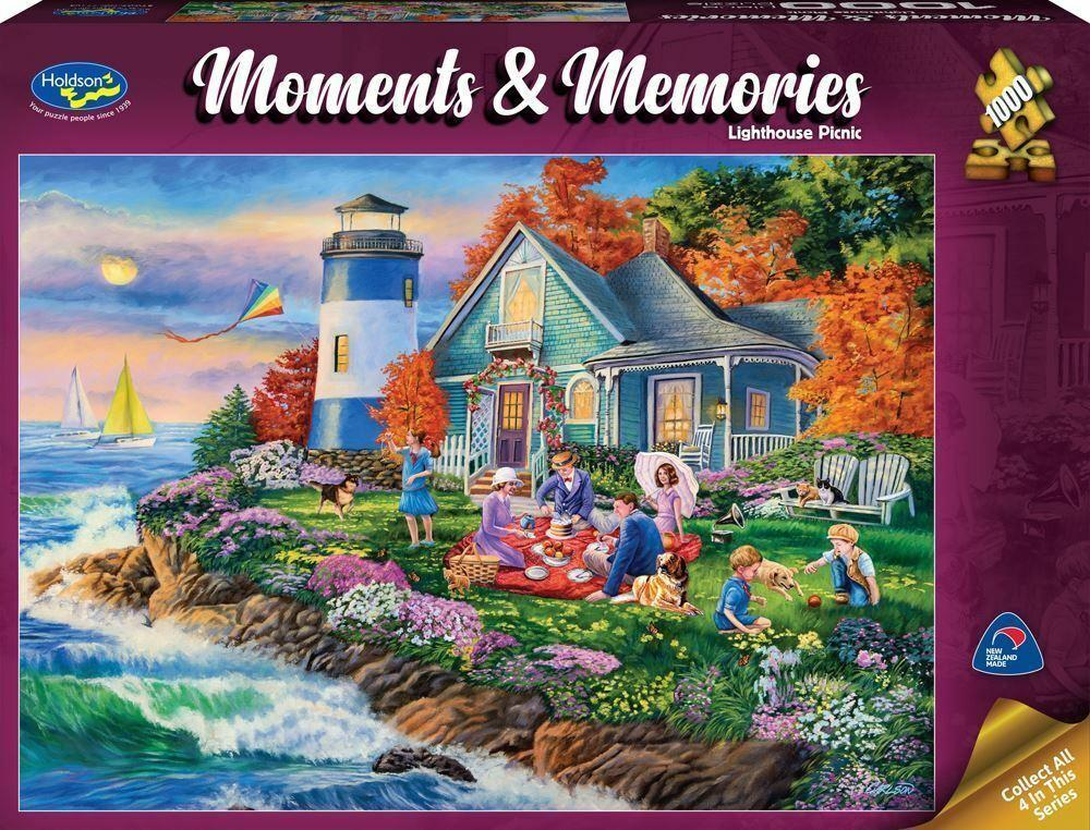 Holdson - Moments Memories Lighthouse 1000pc