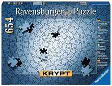 KRYPT Silver Spiral Puzzle 654pc