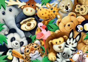 Softies Puzzle 35pc