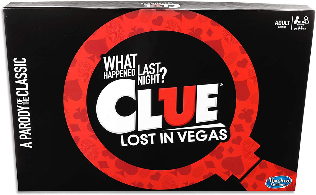 Hasbro Gaming Parody Game Cluedo Lost in Vegas