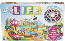 Hasbro Gaming Game of Life Original with Pets Edition Board Game