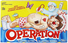 Hasbro Gaming Operation Classic Edition Board Game
