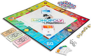 Hasbro Gaming Monopoly Millenials Edition Game