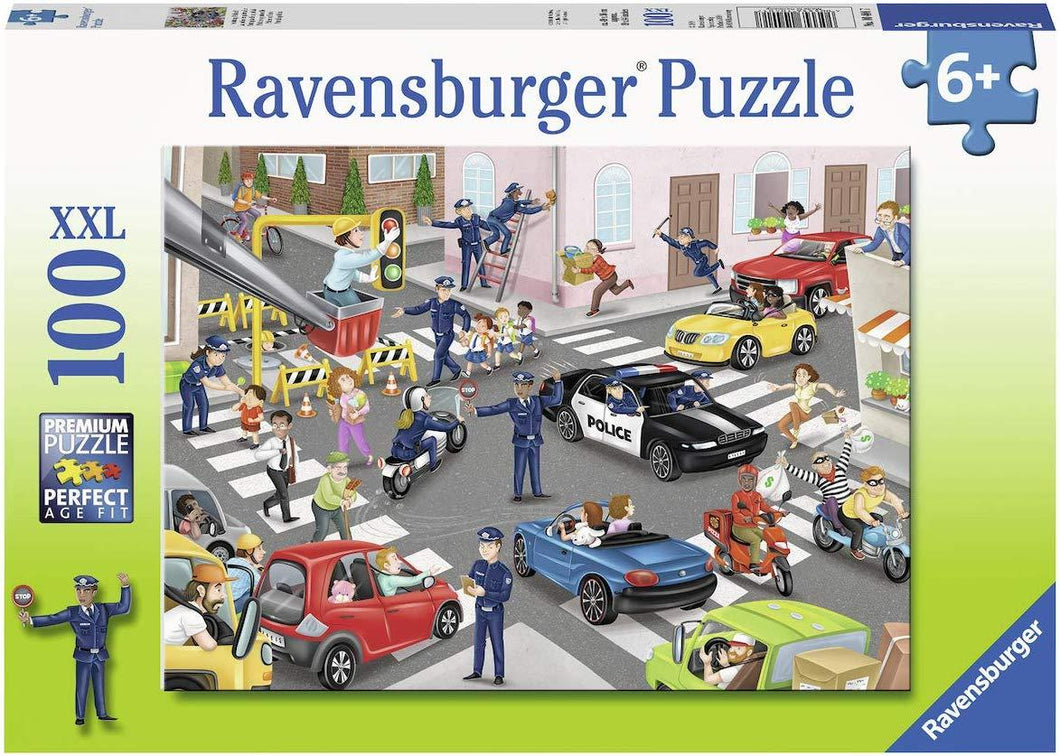 Police on Patrol Puzzle 100pc