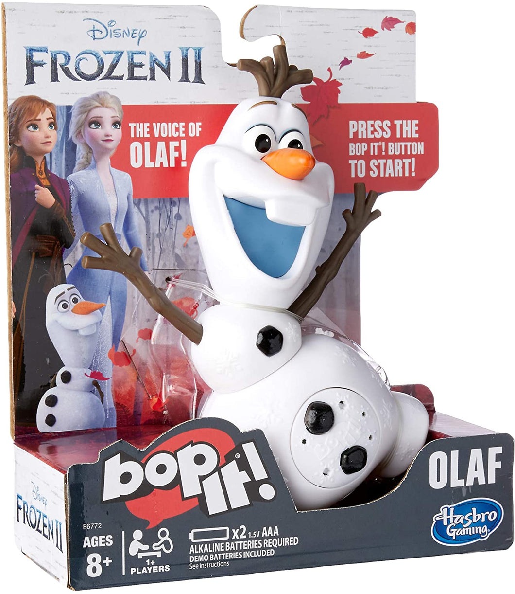 Hasbro Gaming Bop it! Disney Frozen 2 Olaf Edition Game
