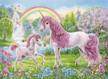 Magical Unicorns Puzzle COLOUR BK 100pc